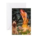 Fairies / Briard Greeting Card