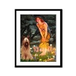 Fairies / Briard Framed Panel Print