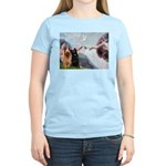 Creation / Briard Women's Light T-Shirt