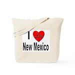 I Love New Mexico Tote Bag