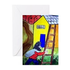 """""""In the Style of Chagall"""" Greeting Cards (Pk of 20"""