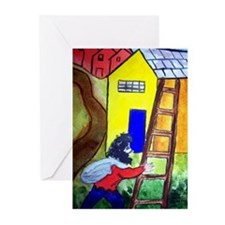 """In the Style of Chagall"" Greeting Cards (Pk of 10"