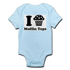 I (Heart) Muffin Tops Infant Bodysuit