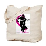 Softball Freak Pink Tote Bag