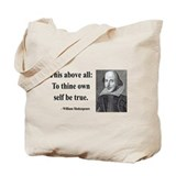 Shakespeare 5 Tote Bag