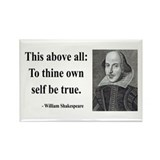 Shakespeare 5 Rectangle Magnet (100 pack)