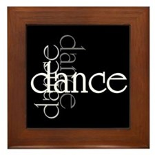 Dance Shadows Framed Tile