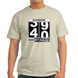 40th Birthday Oldometer Tee-Shirt