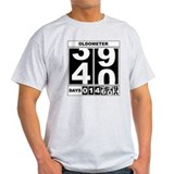 40th Birthday Oldometer T-Shirt
