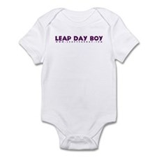 Leap Day Boy Infant Bodysuit
