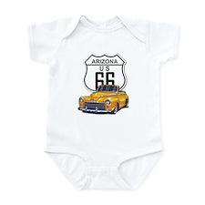 Arizona Route 66 Infant Bodysuit