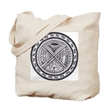 sacred center tattoo seal Tote Bag