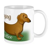 I'm longing for my coffee Small Mug