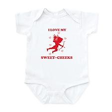 SWEET-CHEEKS (cherub) Infant Bodysuit