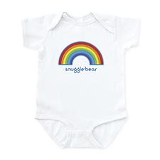 snuggle-bear (rainbow) Infant Bodysuit