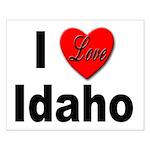 I Love Idaho Small Poster