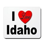 I Love Idaho Mousepad