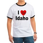 I Love Idaho (Front) Ringer T
