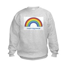 main-squeeze (rainbow) Sweatshirt