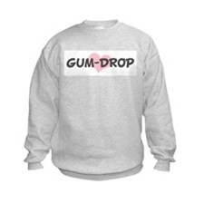 GUM-DROP (pink heart) Sweatshirt