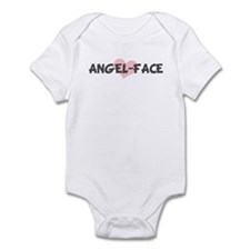 ANGEL-FACE (pink heart) Infant Bodysuit