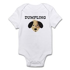 DUMPLING (dog) Infant Bodysuit