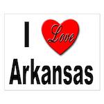 I Love Arkansas Small Poster