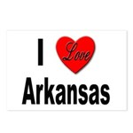I Love Arkansas Postcards (Package of 8)