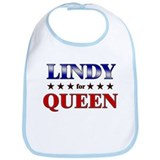 LINDY for queen Bib