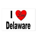 I Love Delaware Postcards (Package of 8)