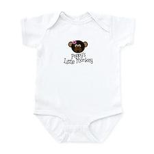 Poppy's Little Monkey GIRL Infant Bodysuit