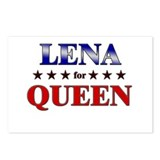 LENA for queen Postcards (Package of 8)