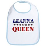 LEANNA for queen Bib
