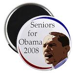 Seniors for Obama Magnet