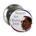 Seniors for Obama 2008 (Button)