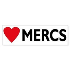 Bumper Sticker - Mercedes