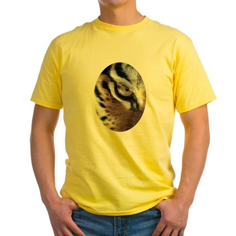 Tiger Eye Yellow T-Shirt