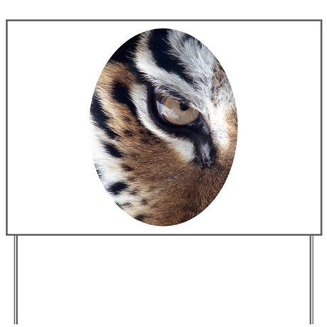Tiger Eye Yard Sign
