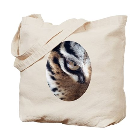 Tiger Eye Tote Bag