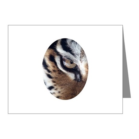 Tiger Eye Note Cards (Pk of 10)