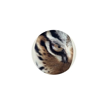 Tiger Eye Mini Button