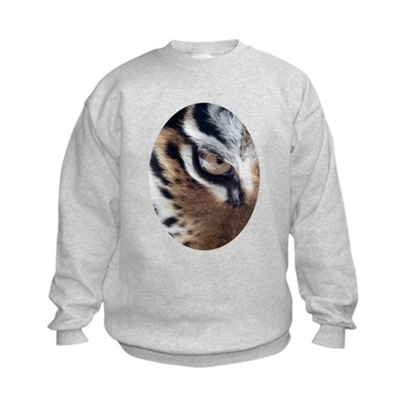 Tiger Eye Kids Sweatshirt