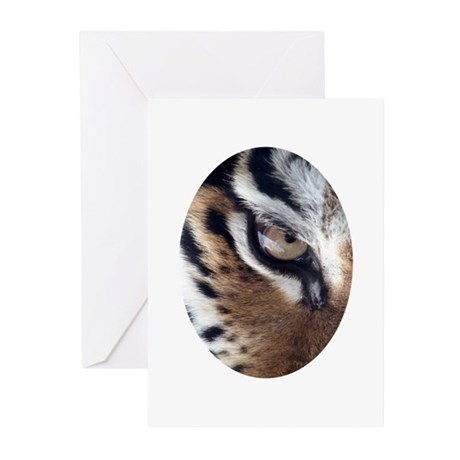 Tiger Eye Greeting Cards (Pk of 10)