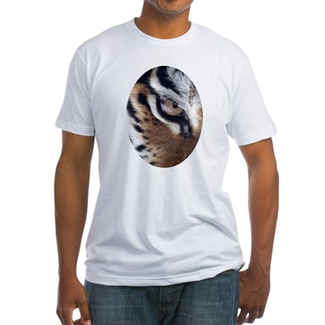 Tiger Eye Fitted T-Shirt