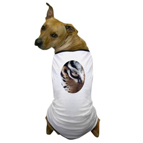 Tiger Eye Dog T-Shirt