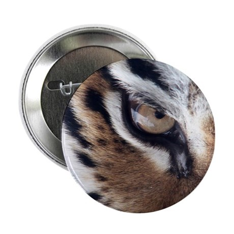 "Tiger Eye 2.25"" Button (10 pack)"