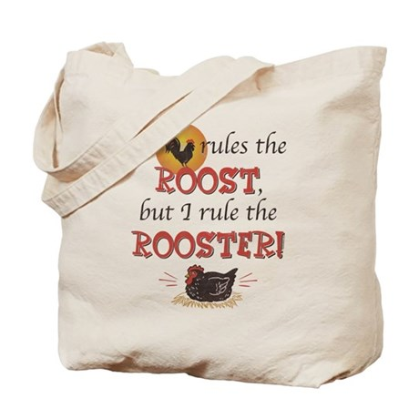 Rules The Rooster Tote Bag