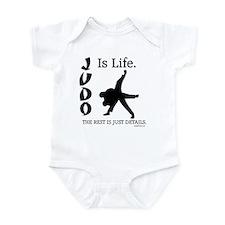 JUDO Is Life. Infant Bodysuit