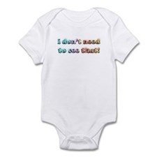 I don't need to see that! (bl Infant Bodysuit