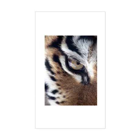 Tiger Eye Rectangle Sticker